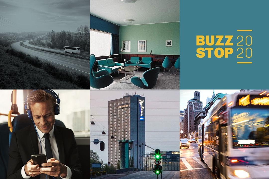 Brug Buzzstop 2020 til at blive inspireret og at tale med os, kolleger og endda konkurrenter om fremtiden.